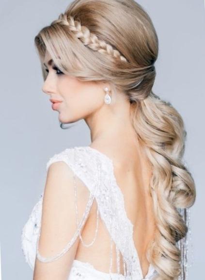Свадебные прически 2017 на длинные волосы