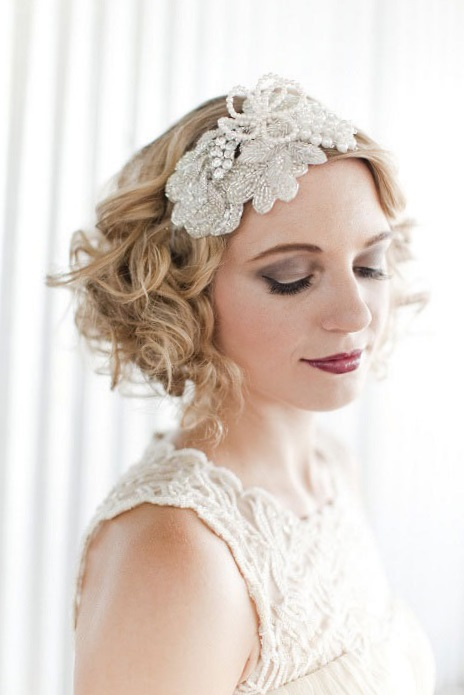 Красивые свадебные прически 2017 на короткие волосы