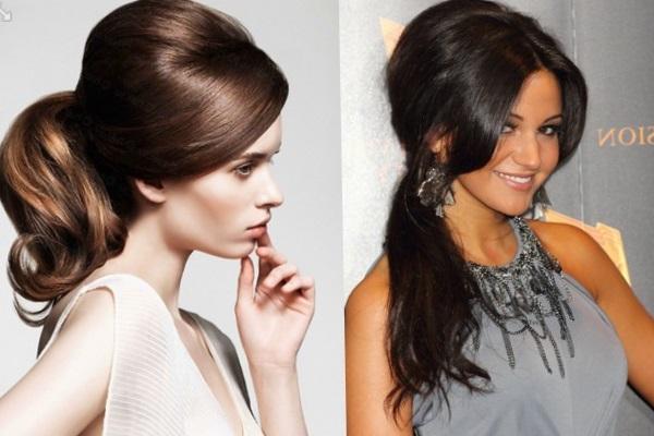 модные ретро прически на длинные волосы 2017