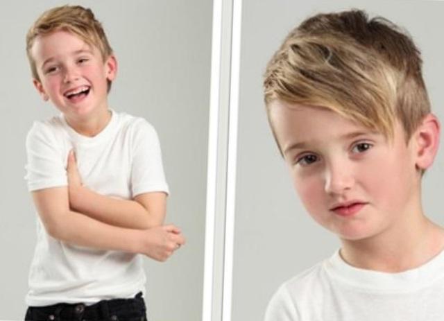 модные стрижки для мальчиков 2017 фото