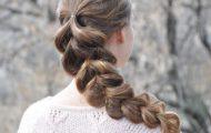 Разные виды плетения кос с резинками — топ 10 причесок с помощью резинок