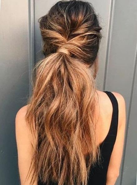 модные прически на длинные волосы 2017