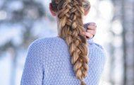 Как плести косу из 5 прядей — схема плетения и пошаговая инструкция
