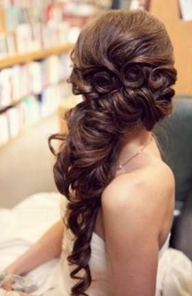 модные прически на длинные волосы 2017 - крупные локоны