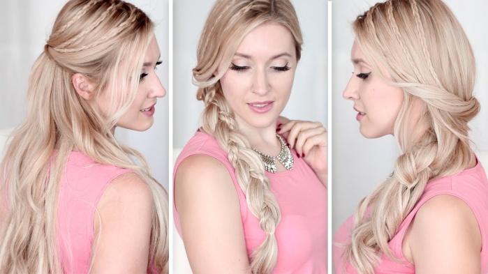 Идеи красивых и простых причесок на короткие, средние и длинные волосы