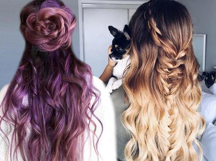 модные прически на длинные волосы 2017 с косами