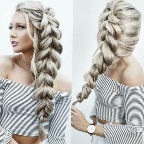 прически на очень длинные волосы