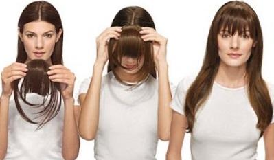 прически с накладными волосами