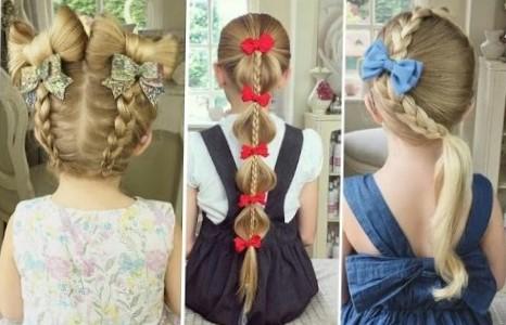 Модные прически для девочек
