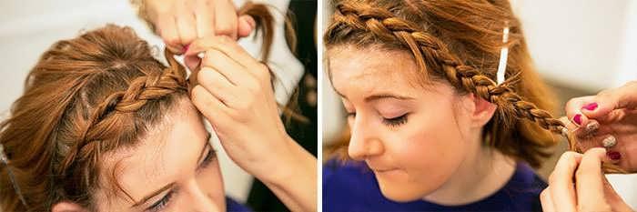 Варианты плетения кос для коротких волос