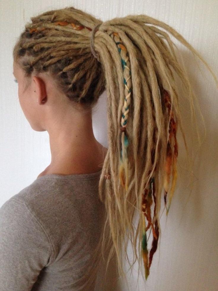 Как сделать дреды из коротких волос