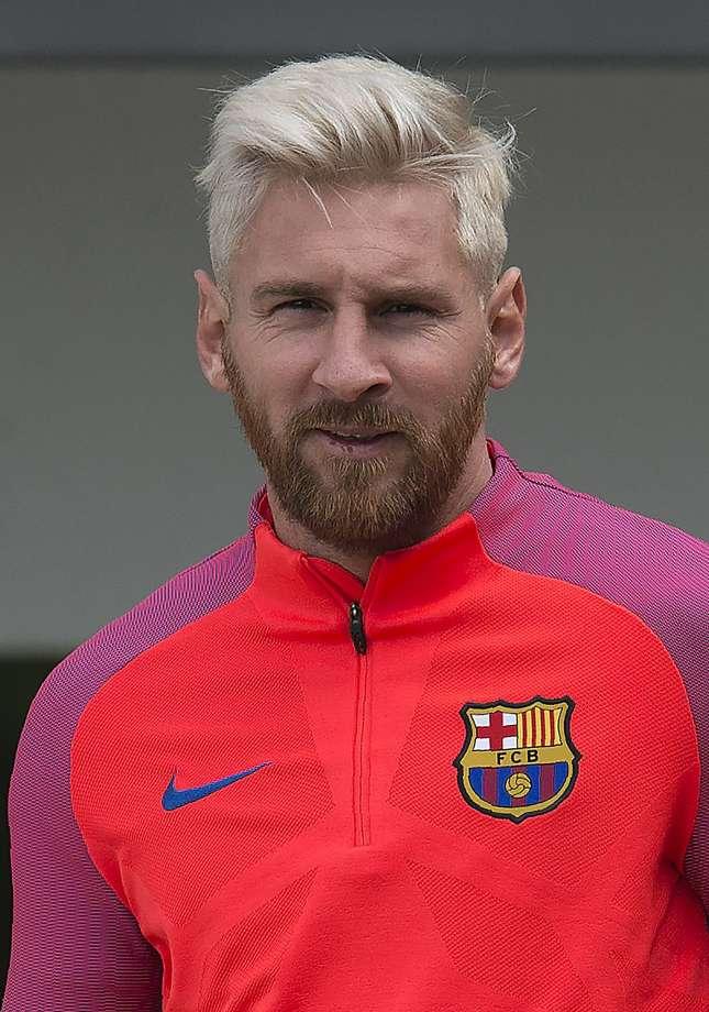 Новая прическа футболиста Лионеля Месси