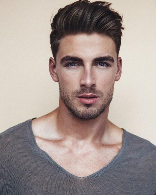 Мужские современные причёски фото