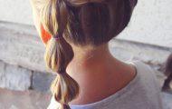 Как делать прически с резинками для девочек — пошаговое фото причесок