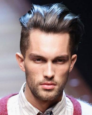 Овальная форма лица прически мужские 2018 116