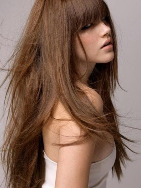стрижки на густые волосы