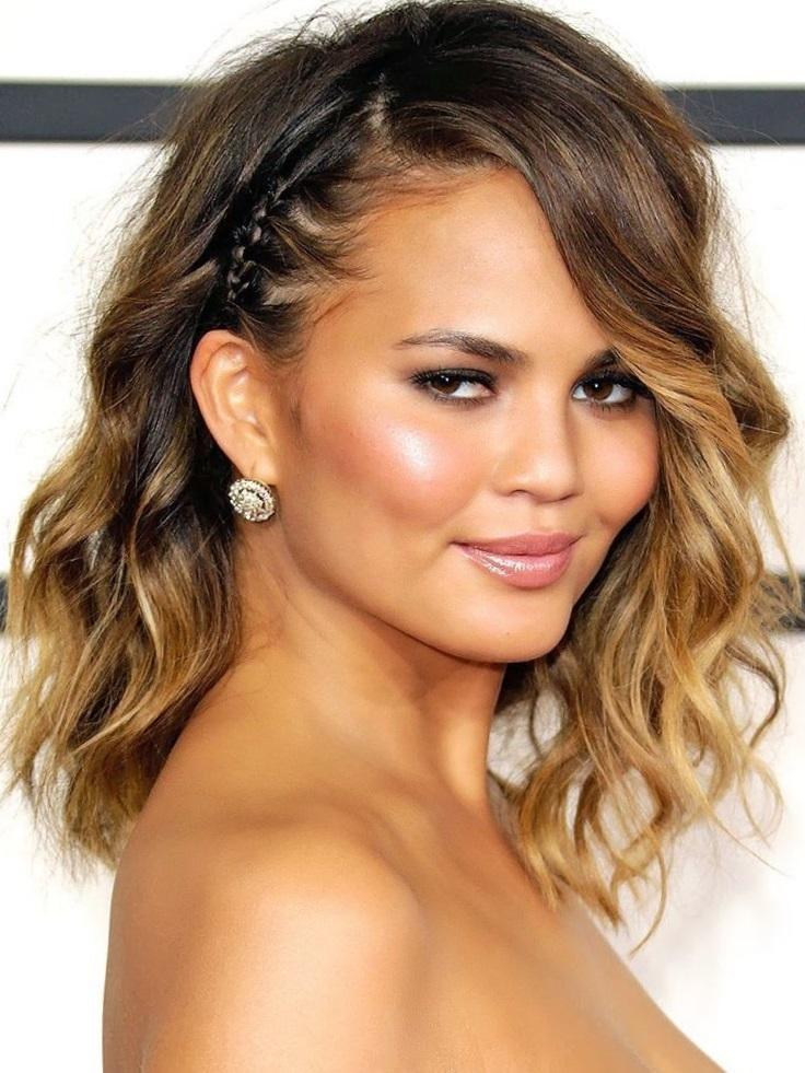 только такой красивые укладки на средние волосы фото поселился