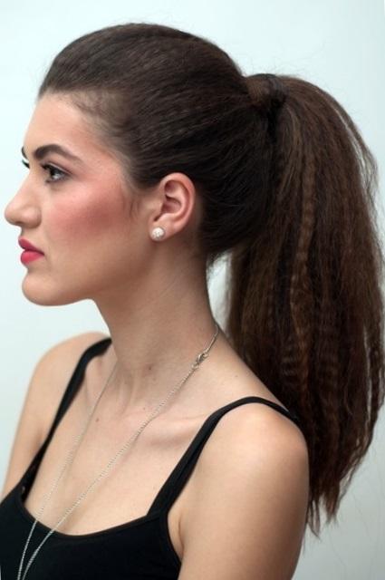 Красивые прически на волосы гофре