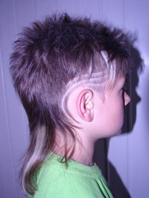 модельная стрижка для мальчика