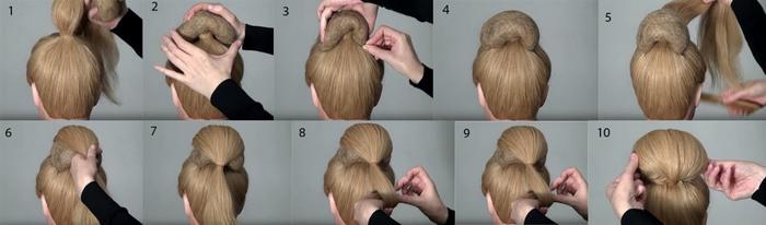 Легкие и красивые прически на выпускной вечер для средних волос