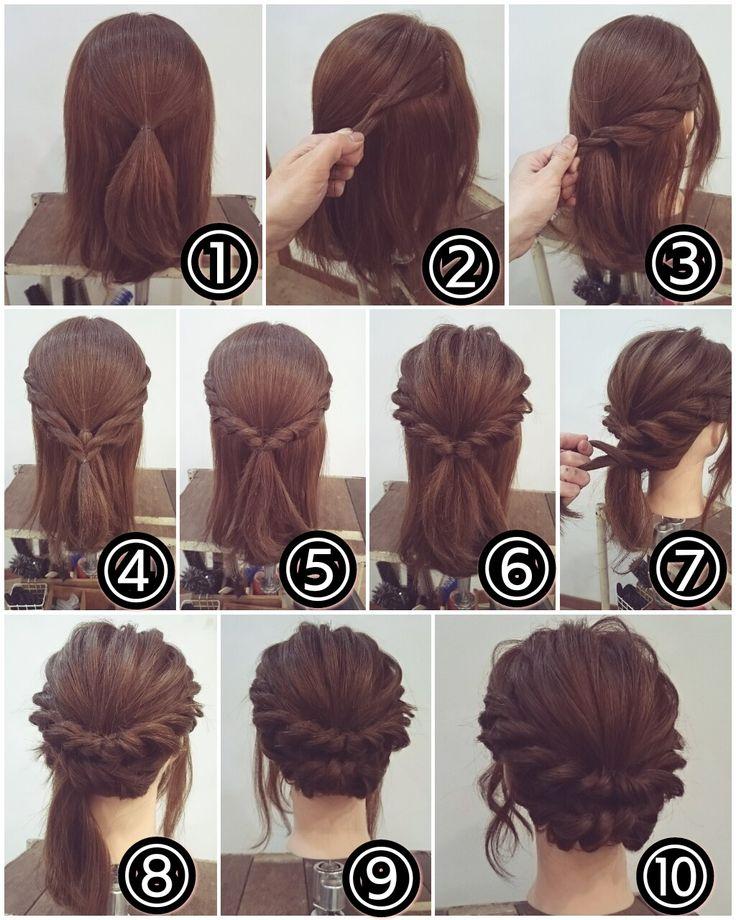 Лучшие идеи повседневных причесок для средних волос