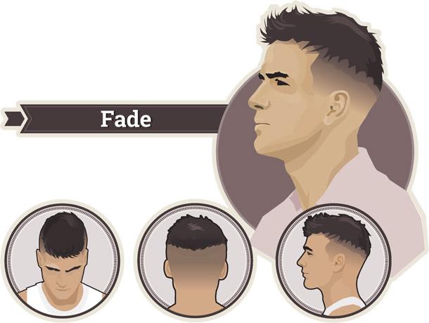 Мужская стрижка Фейд - фото и виды причесок в стиле Fade