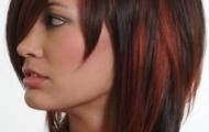 Стрижка дебют на средние и короткие волосы