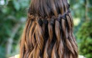 Как сделать прическу водопад — пошаговая инструкция плетения косы