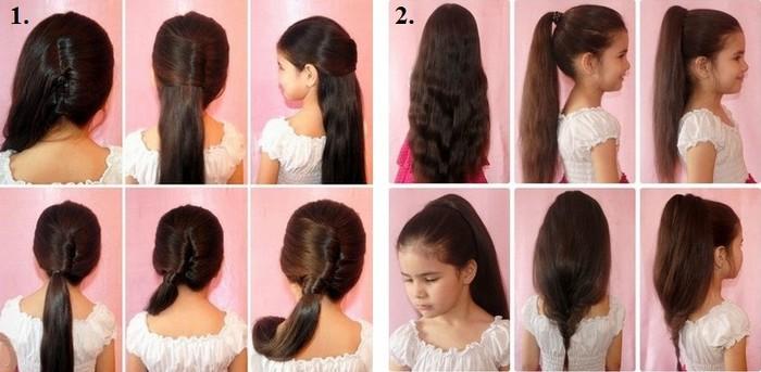 Красивые прически для детей на длинные, средние и короткие волосы