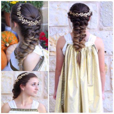 Красивые прически в греческом стиле - как сделать греческую прическу
