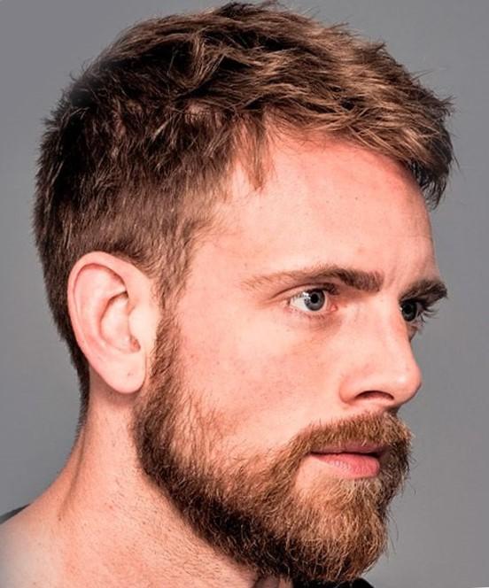 Модельная мужская стрижка