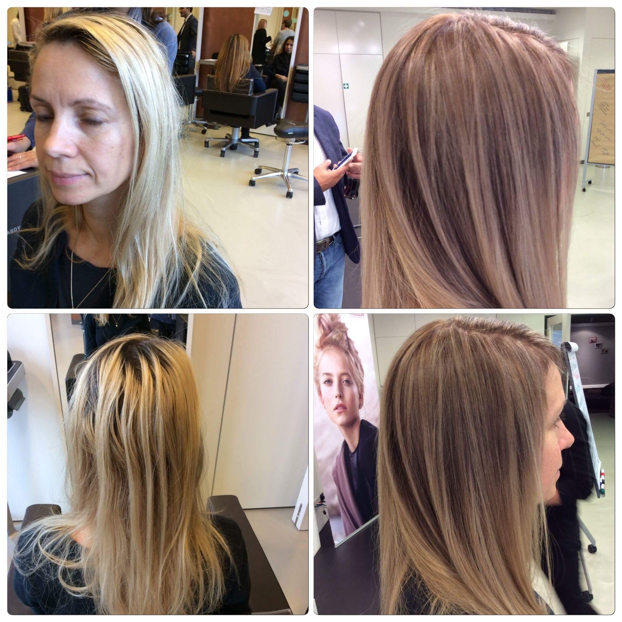 Брондирование темных, светлых и русых волос 2019