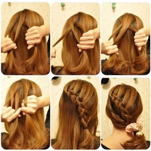 Прическа французская коса - как плести косу самой себе, фото и видео урок для начинающих