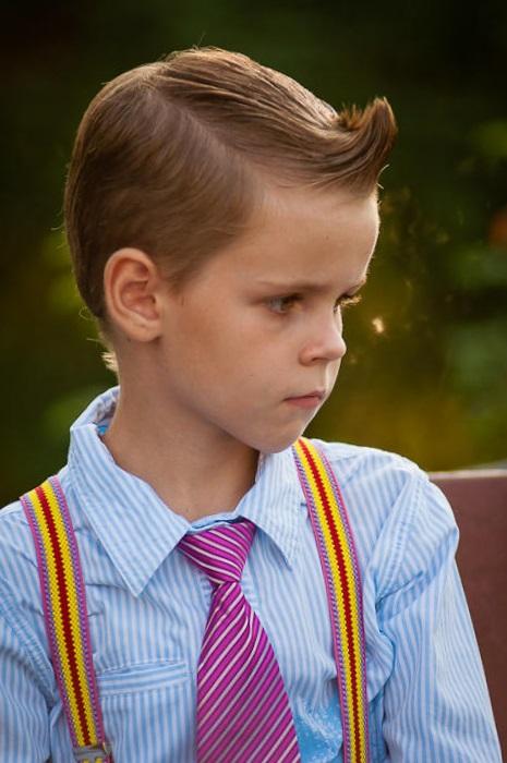 Прически в стиле стиляг для мальчиков