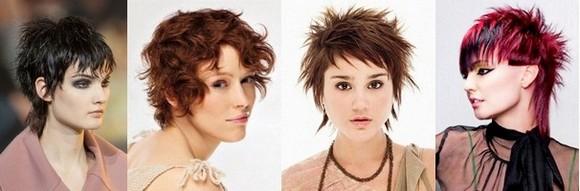 Стрижка Гаврош на средние и короткие волосы - женские и мужские прически