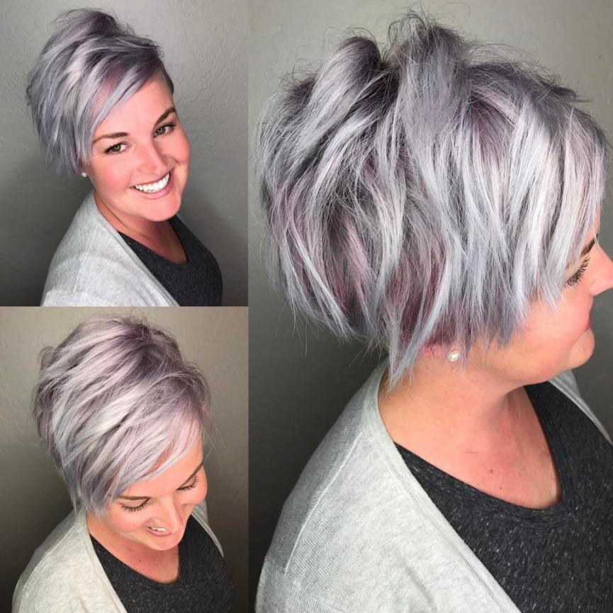 Стрижка Пикси на короткие волосы 2018 - 2019 - фото со всех сторон