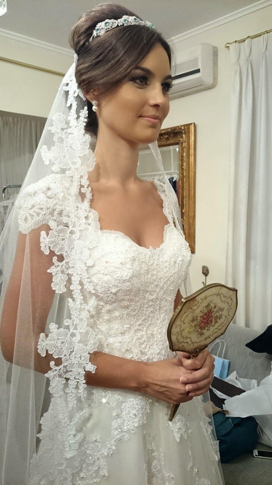 Свадебные прически с фатой на средние, длинные и короткие волосы