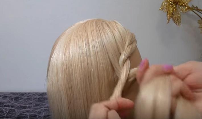 Прическа Корзинка для девочек и женщин - фото пошагово