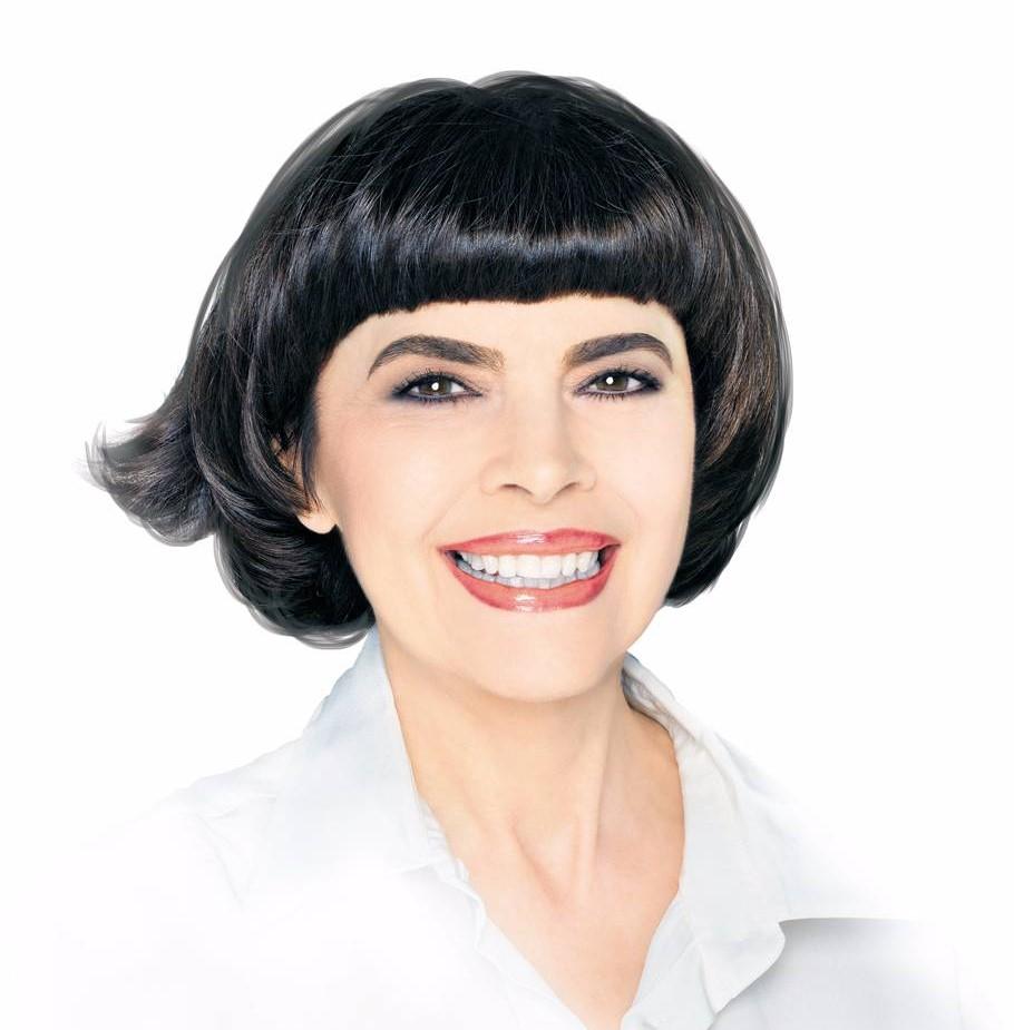 прическа Мирей Матье