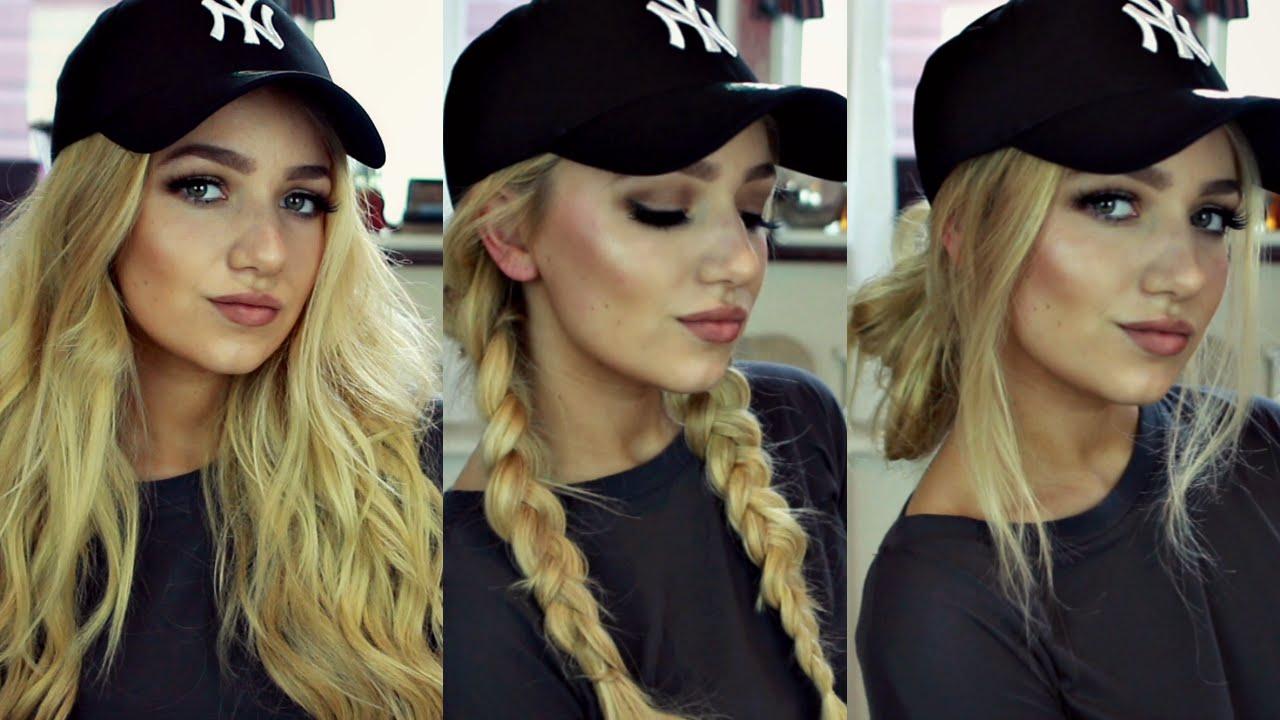 Прически под шапку на длинные и средние волосы - фото
