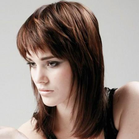 Женская стрижка шапочка на средние волосы - фото