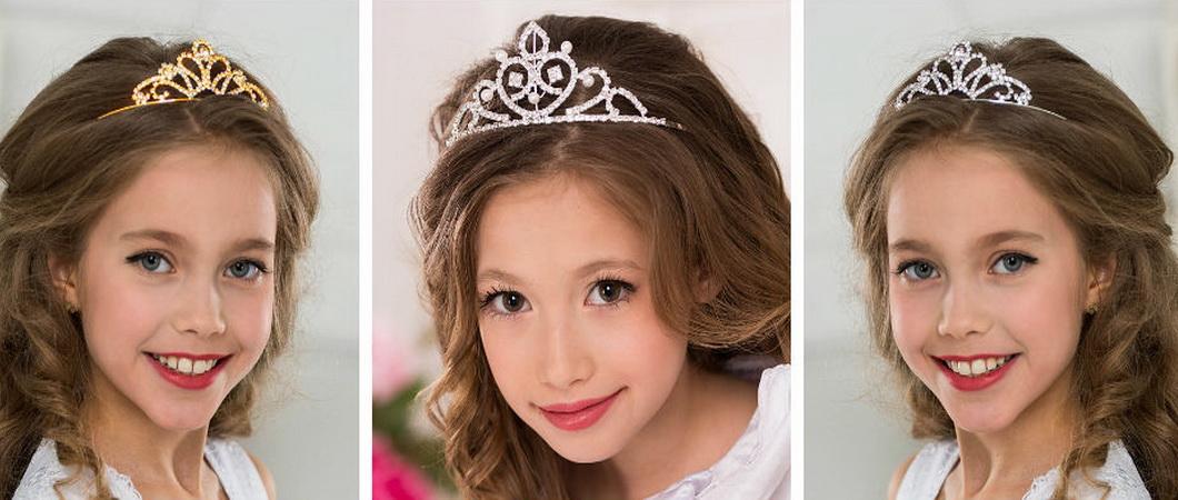 Прически с диадемой для девочек — топ 10 укладок с короной