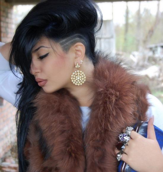 Модные стрижки на длинные волосы с челкой - фото, виды