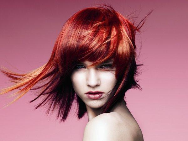 Многослойные стрижки на средние волосы
