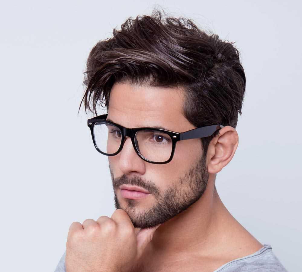 мужские стрижки на жесткие волосы