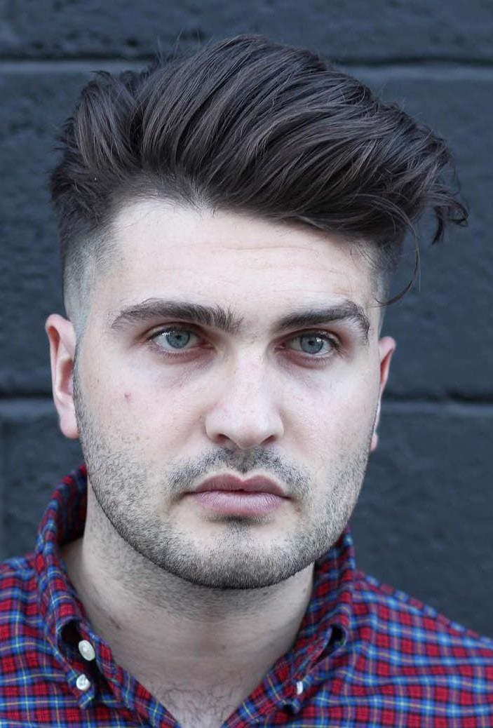 мужская стрижка для круглого лица фото юристы