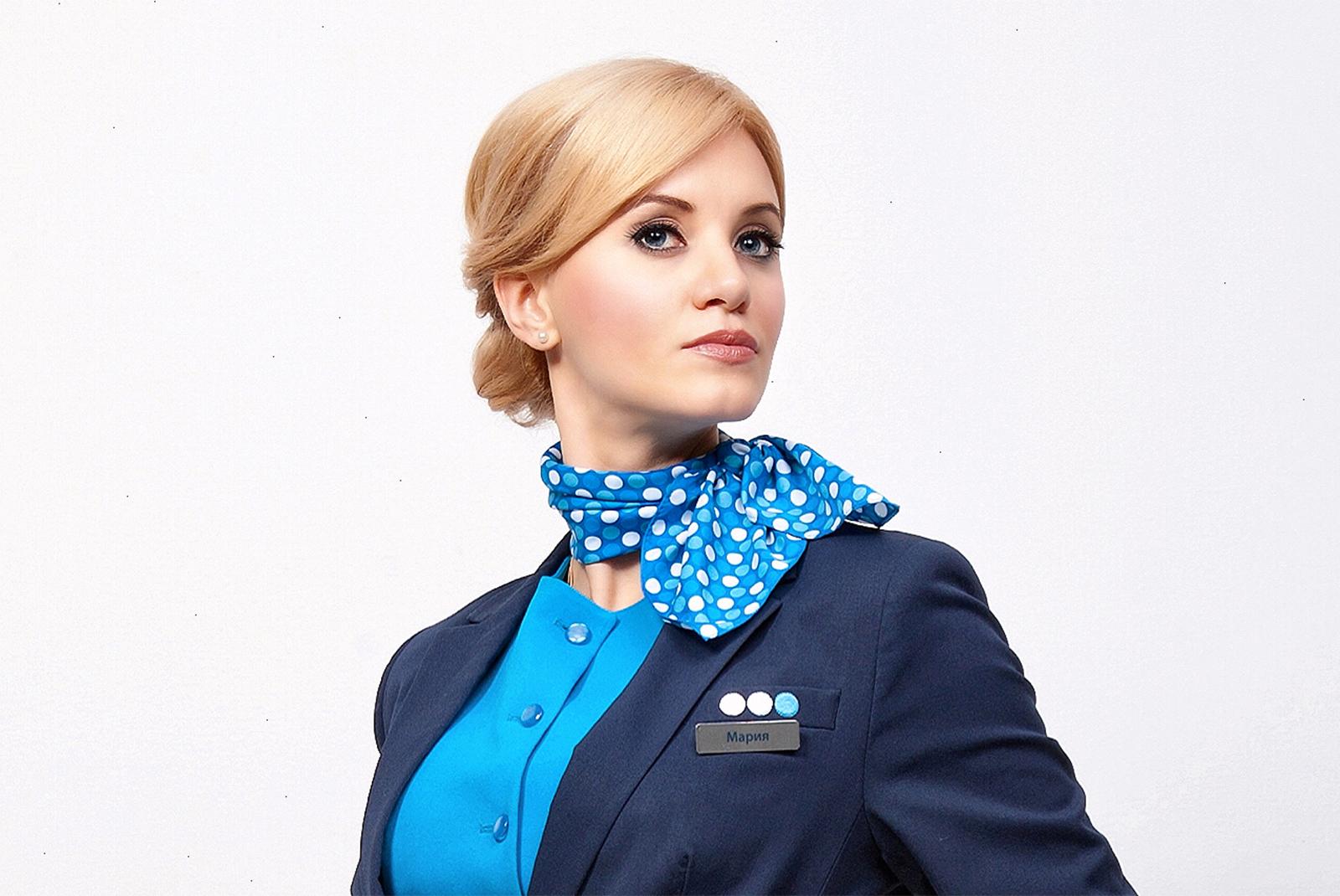 Прическа стюардессы