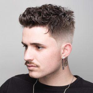Мужские стрижки на кудрявые волосы