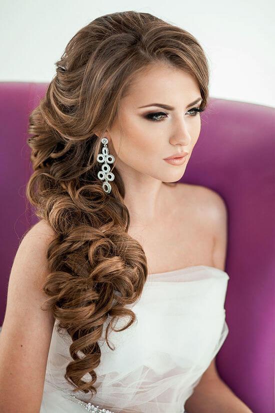 Красивые прически на длинные волосы для женщин на свадьбу